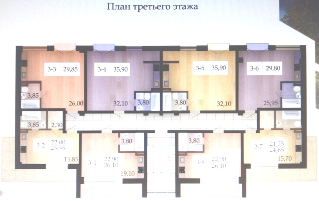 продажа однокомнатной квартиры номер A-151504 в Малиновском районе, фото номер 8